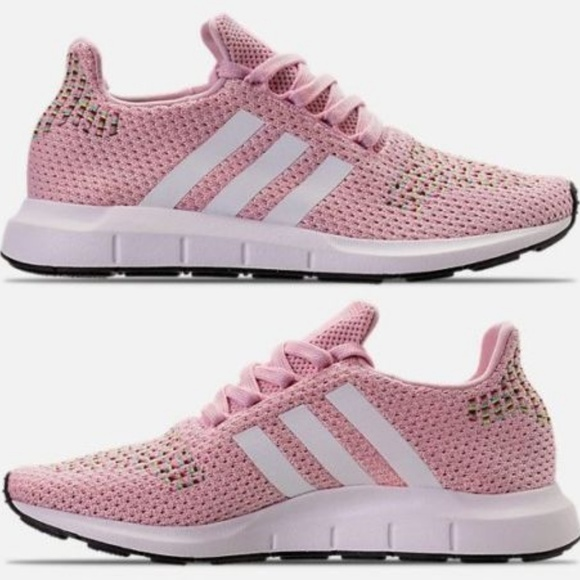 42ae2f81f7d Women s adidas Swift Run Casual Shoes Pink White B